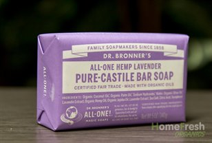 home fresh organics lavender castille soap bar dr. Black Bedroom Furniture Sets. Home Design Ideas