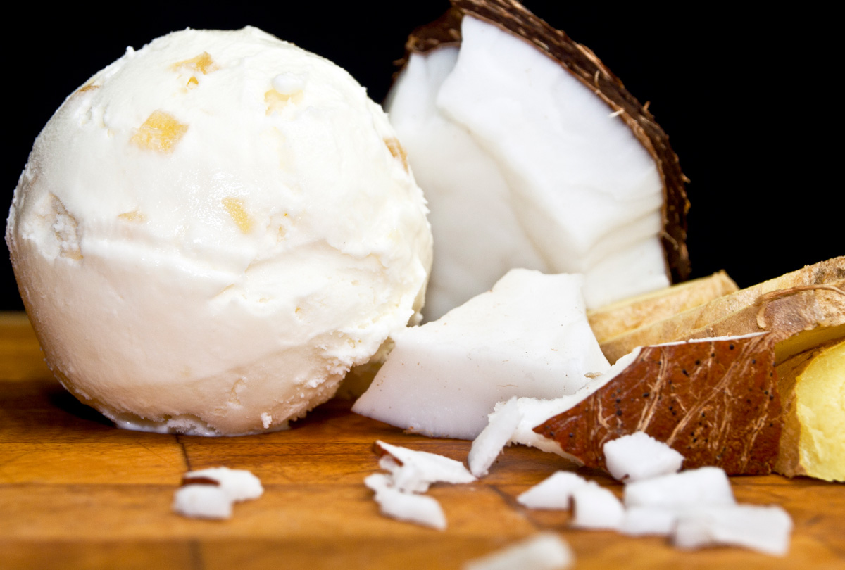 Home Fresh Organics - Coconut Ice-Cream - AWSNEW