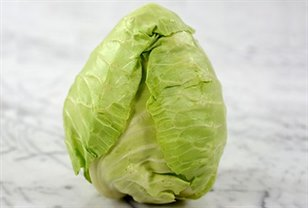 Home Fresh Organics Cabbage Sugarloaf Whole Awsnew
